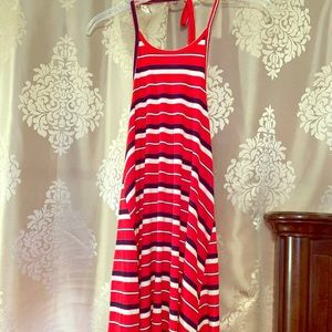 Mossimo size small - red, blue and white
